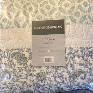 King size Madison park 6 Piece coverlet set